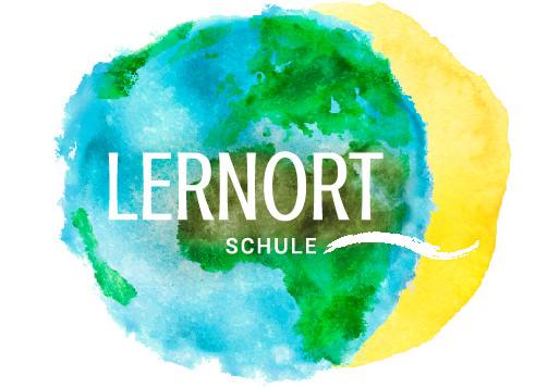 Logo LERNORT Weltkugel